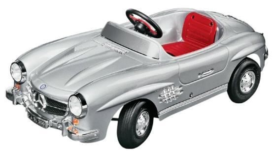benz_pedal_car